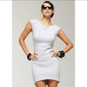 Kardashians by bebe Heather Seamed Knit Dress S